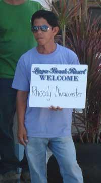 Rhoody is welcome on Bohol