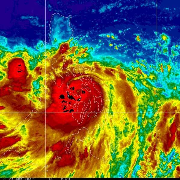 typhoon Frank Asia Philippines