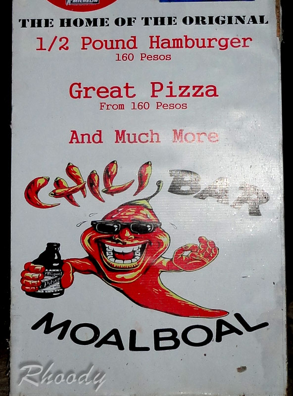 Chili Bar Moalboal