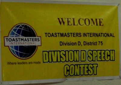 Bacolod - Toastmaster Division D Speech Contest