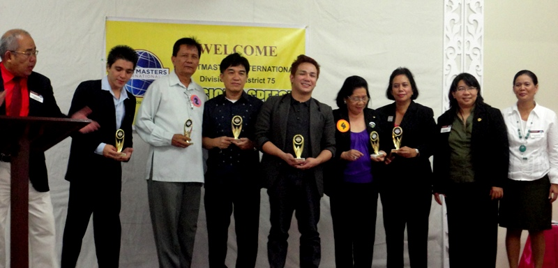 Winner of the Division D Speech Competition in Bacolod