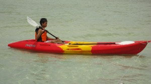 Kayaking in Dumaguete