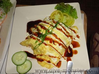 Khell's Fried Rice in Egg