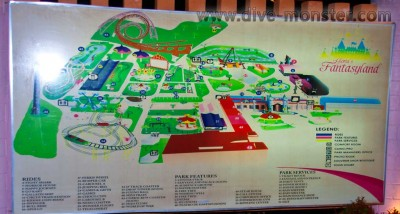 Fantasyland Dapitan - Map of Attractions