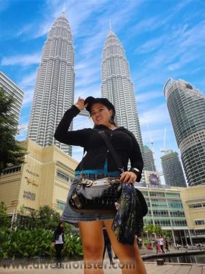 Rechel Serona in Kuala Lumpur