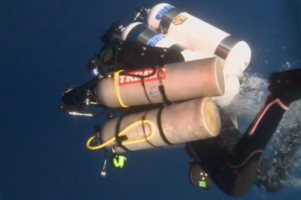 Dr. Guy Garman died on deep dive world record attempt