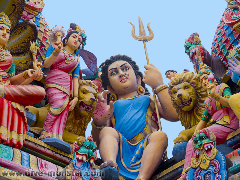 Sri Mariamman Temple - Singapore
