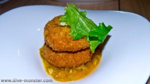 Gardens by the Bay Crab Cake