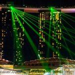 Marina Bay- Laser Show