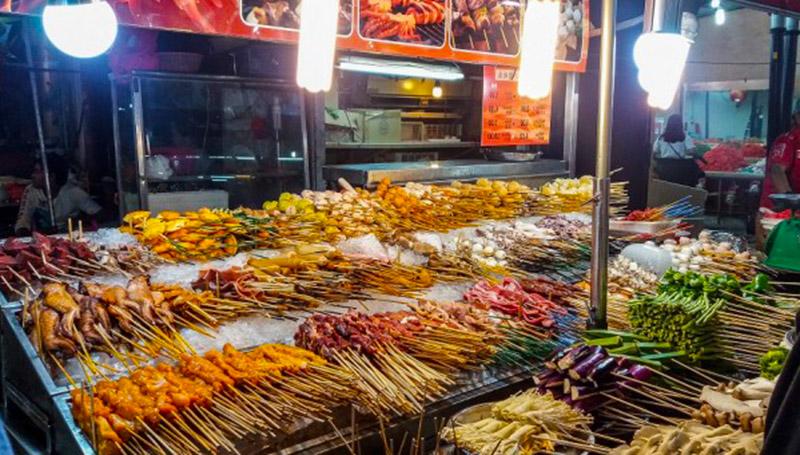 KL Jalan Alor Night Market