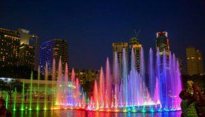 KLCC Fountains