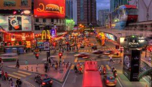 Kuala Lumpur Jalan Bukit Bintang - View from MRT Station
