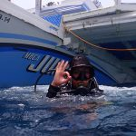 Daisy Diving in Apo Island - Jump