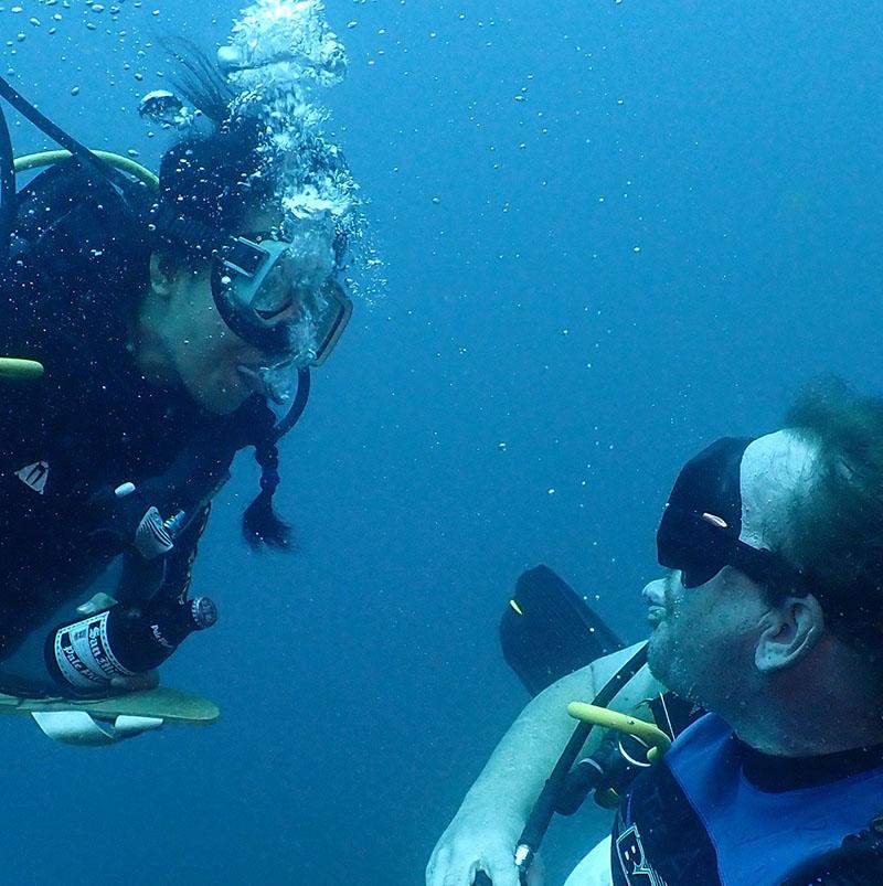 Dive Monster Jr and Senior - First Dive - 01