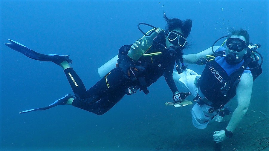 Dive Monsters in Action!