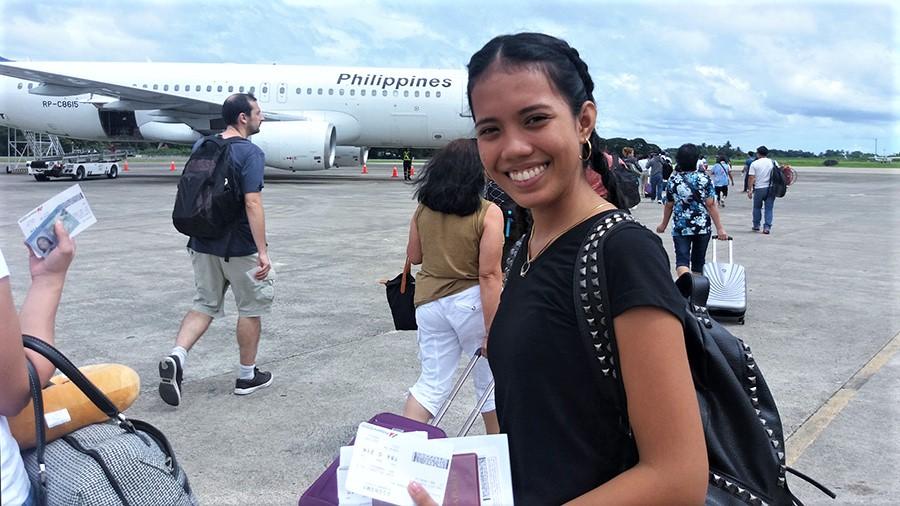 Daisy - Hong Kong Trip - Dumaguete Airport