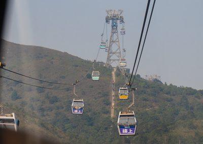 Hong Kong Trip - Cable Car Rides - Ngong Ping