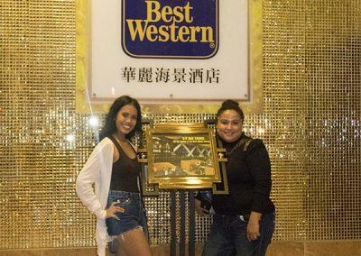 Hong Kong Trip - Daisy & Fatima - Best Western Hotel Harbor View Sai Ying Pun