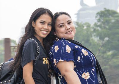 Hong Kong Trip - Lantau Island - Big Buddha - Daisy and Fatima