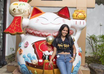 Hong Kong Trip - Lantau Island - Ngong Ping - Lucky Cat