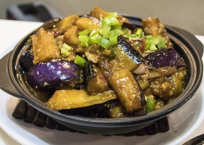 Hong Kong Trip - Last Supper - Eggplant Dish