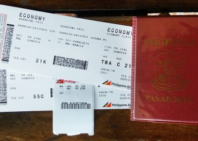 Hong Kong Trip - Passport & Boarding Pass