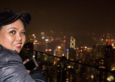 Hong Kong Trip - Victoria's Peak - Rechel