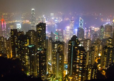 Hong Kong Trip - Victoria's Peak View - Central