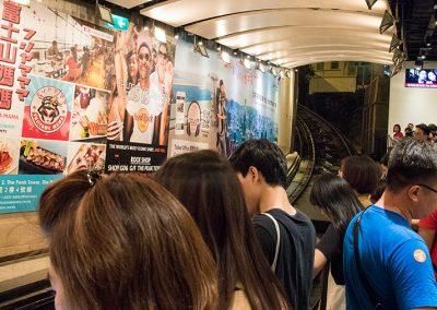 Peak Tram - Central - Hong Kong