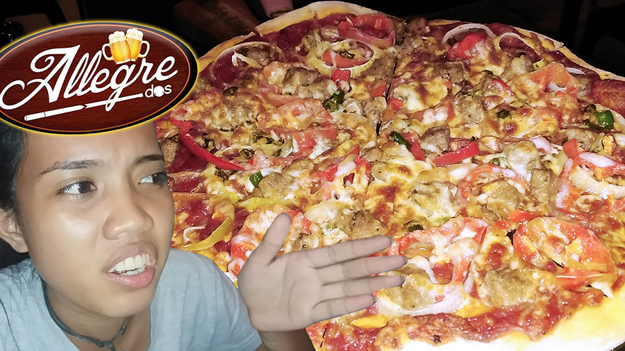 Food Trip to Allegre Dos in Dumaguete - Pizza