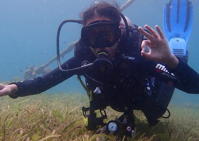 Diving in Dauin - Daisy