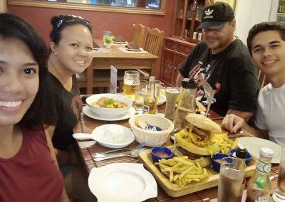 Pam Sunday 2019 Dinner - Casablanca Family