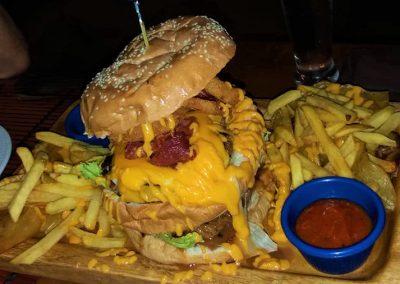 Pam Sunday 2019 Dinner - Fat Austrian Burger Casablanca