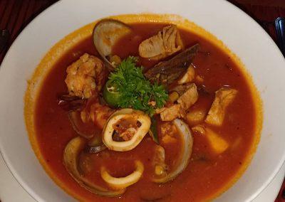 Pam Sunday 2019 Dinner - Seafood Pot Casablanca