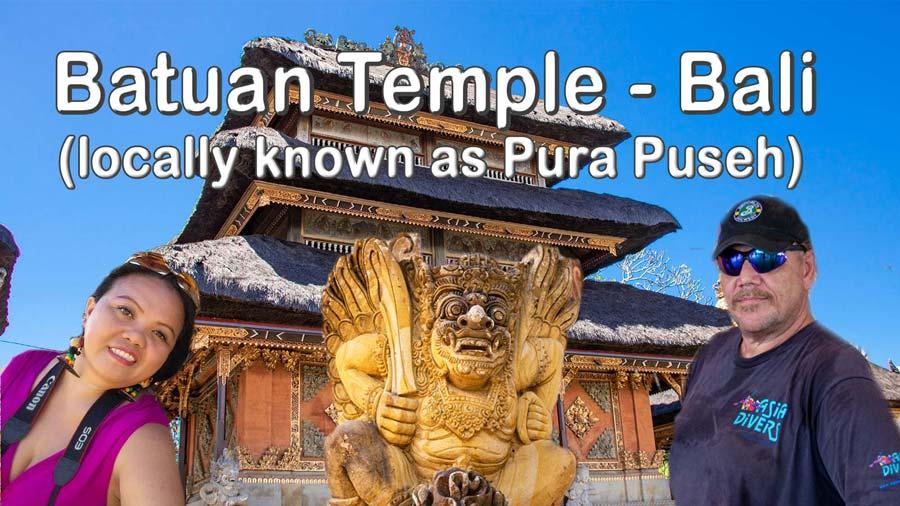 Batuan Temple Bali – Indonesia