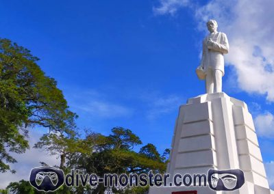 Dapitan Trip - Dapitan Plaza - Rizal Statue