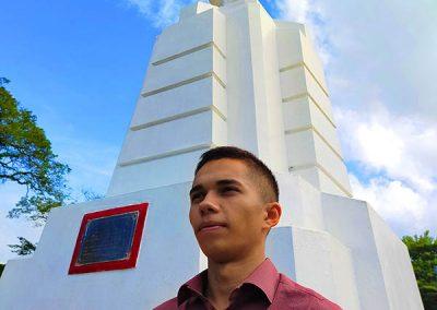 Dapitan Trip - Dapitan Plaza - Rizal & Tim