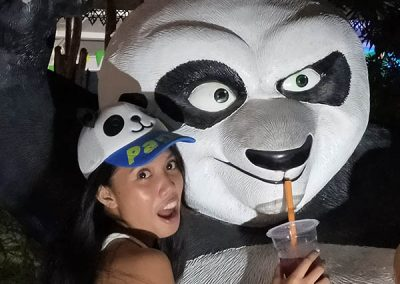 Dapitan Trip - Gloria de Dapitan - Daisy & Kung Fu Panda