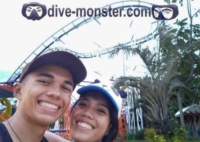 Dapitan Trip - Gloria's Fantasy Land - Daisy & Tim - Roller Coaster