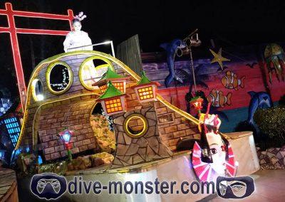 Dapitan Trip - Gloria's Fantasy Land - Parade of Lights 04