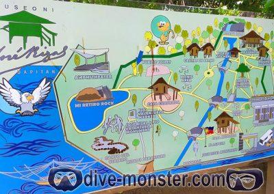 Dapitan Trip - Rizal Shrine & Rizal Park Map