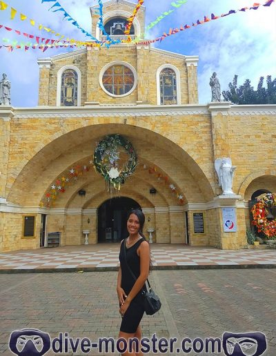 Dipolog City - Our Lady Of The Most Holy Rosary Cathedral - Daisy