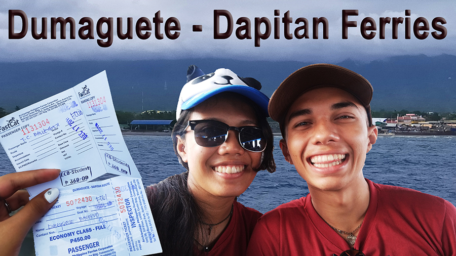 Dumaguete - Dapitan Ferries (Getting to Dapitan)