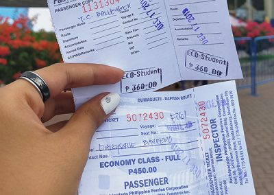Dumaguete to Dapitan Ferry Tickets