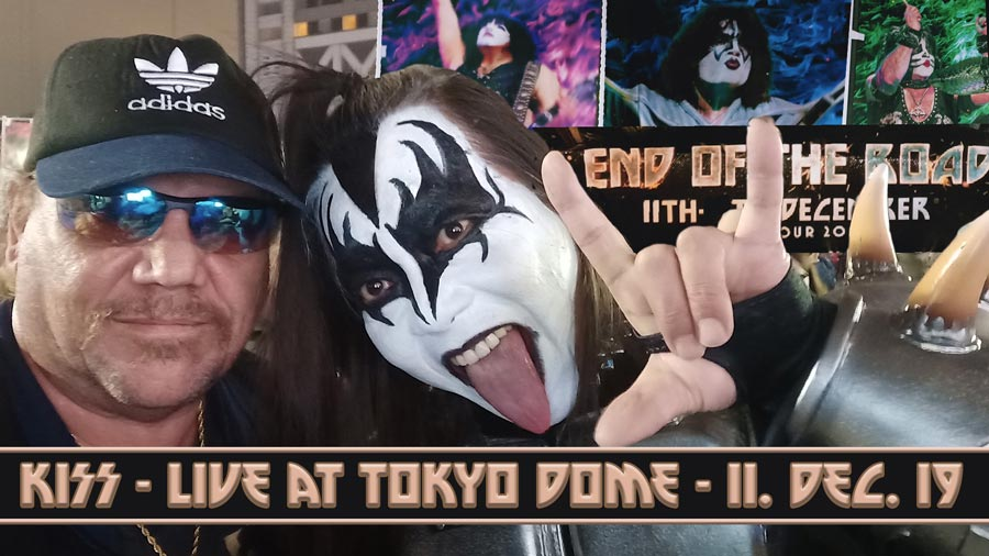 Kiss Live in Japan - End of the Road Tour - Tokyo Dome Dec 2019