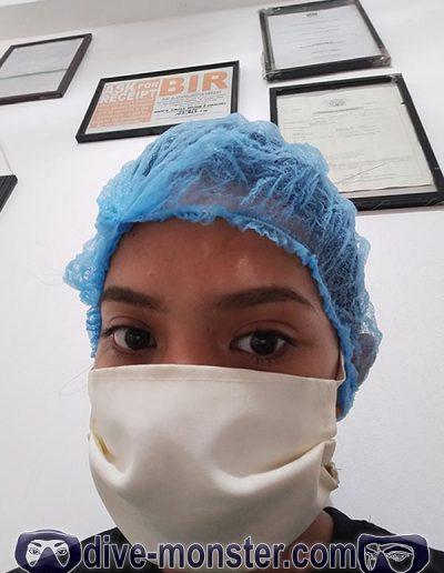 Daisy Dentist Visit - Coronavirus - Head Cover