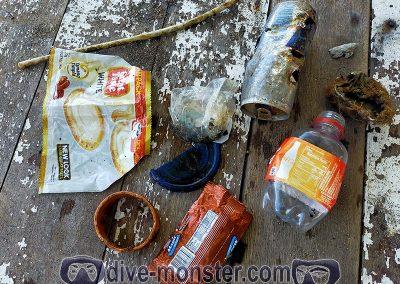 Dive Monster - Underwater Clean Up Trash