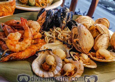 Shaka Hawaiian Restaurant - Seafood Teppanyaki Platter
