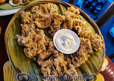 Shaka Hawaiian Restaurant - calamares