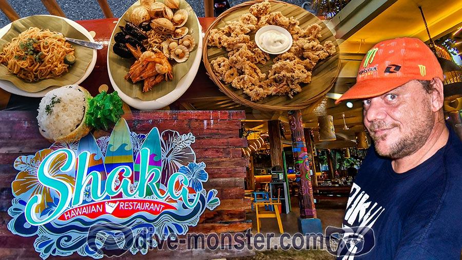 Shaka Hawaiian Restaurant in Dumaguete